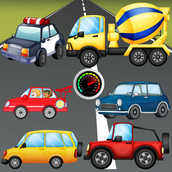 Puzzle for Toddlers : Vehicles, Cars and Trucks ! Educational Puzzles Games - FREE app
