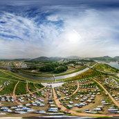 The best choice for camping (Chungju Caravan)