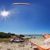 Kitesurf, Escapade Ilot Maitre(New Caledonia)