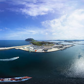 Magnificently beautiful harbor(Seongsanhang)