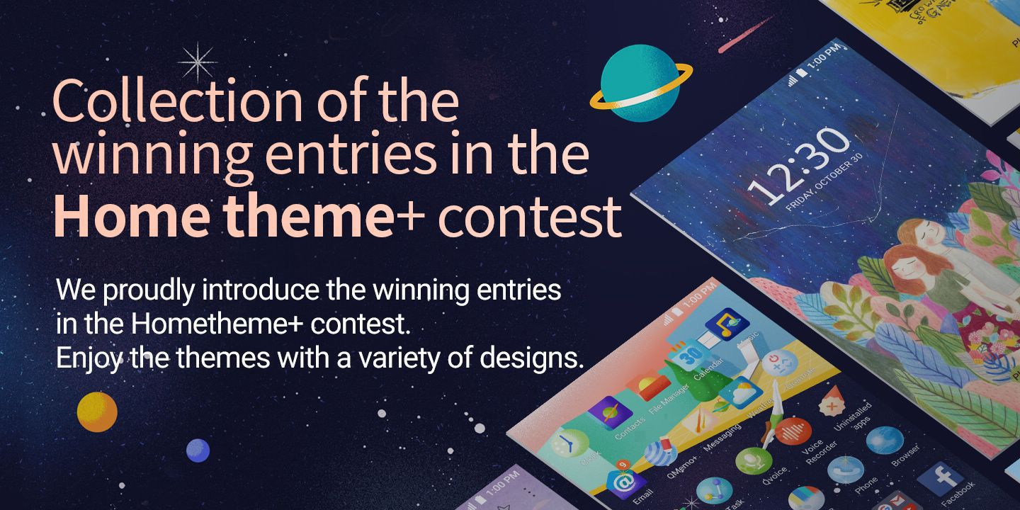 [Collection of the winning entries in the Hometheme+ contest]